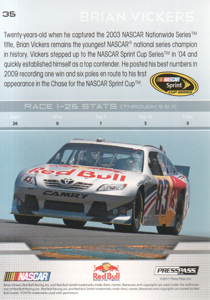 2012-Press-Pass-Parallels-NASCAR-Racing-Cards-Pick-From-List thumbnail 19