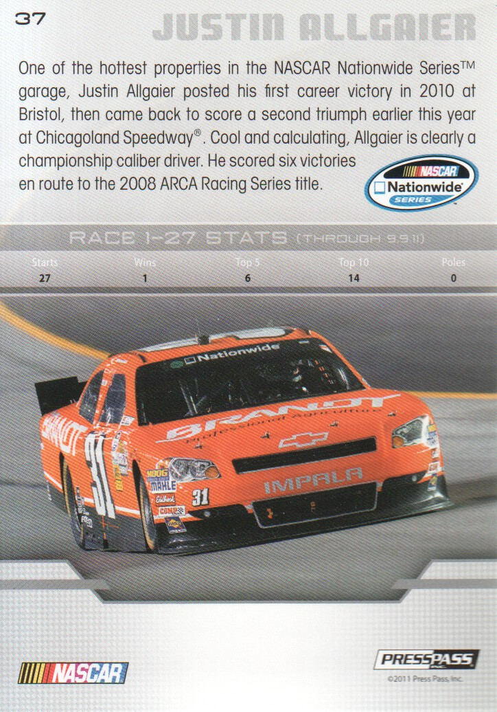 2012-Press-Pass-Parallels-NASCAR-Racing-Cards-Pick-From-List thumbnail 21