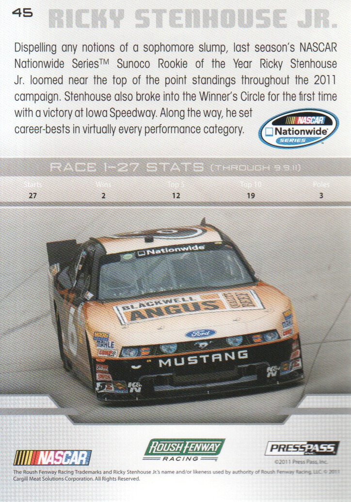 2012-Press-Pass-Parallels-NASCAR-Racing-Cards-Pick-From-List thumbnail 25