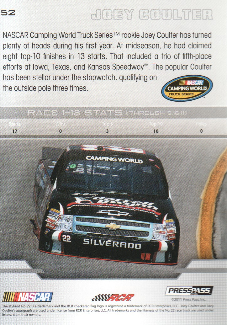 2012-Press-Pass-Parallels-NASCAR-Racing-Cards-Pick-From-List thumbnail 27
