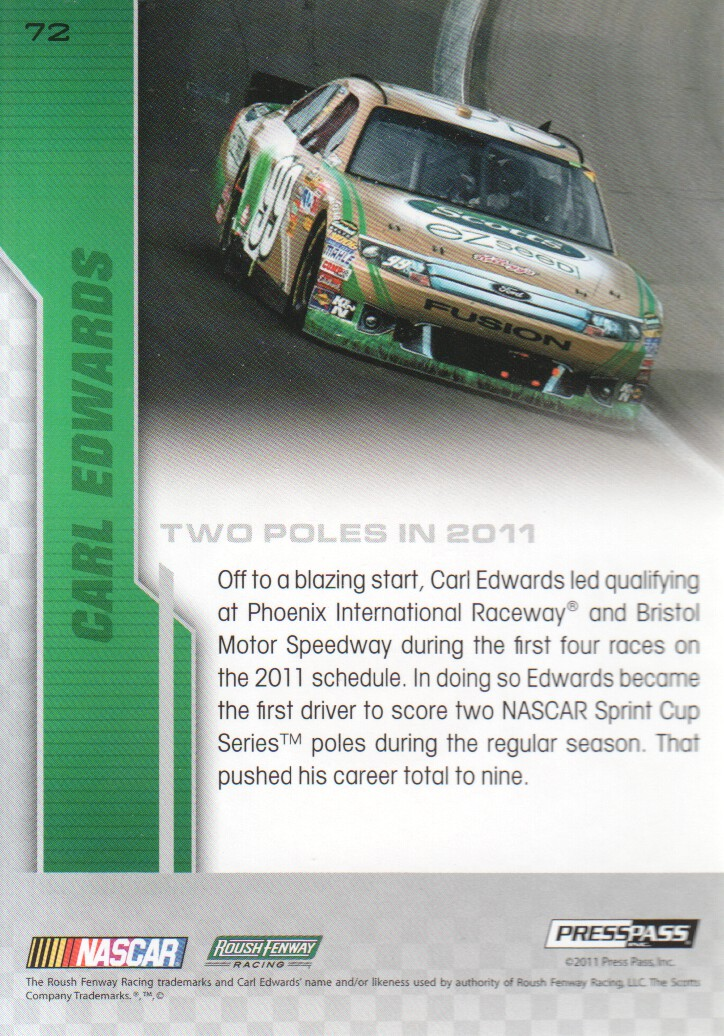 2012-Press-Pass-Parallels-NASCAR-Racing-Cards-Pick-From-List thumbnail 35