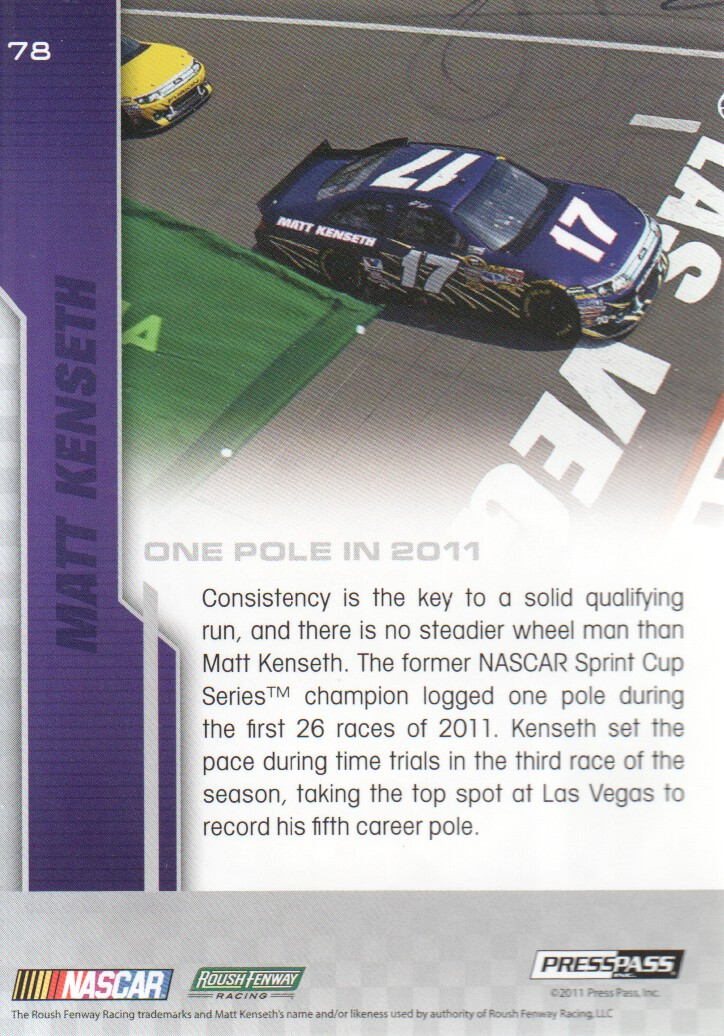 2012-Press-Pass-Parallels-NASCAR-Racing-Cards-Pick-From-List thumbnail 37