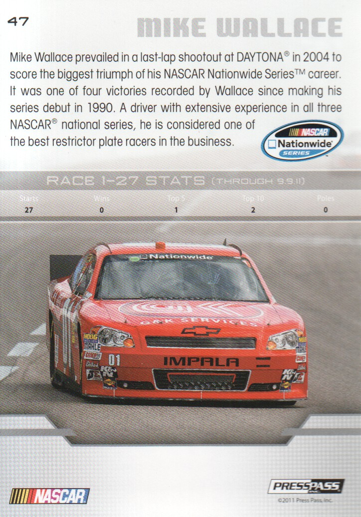2012-Press-Pass-Parallels-NASCAR-Racing-Cards-Pick-From-List thumbnail 3