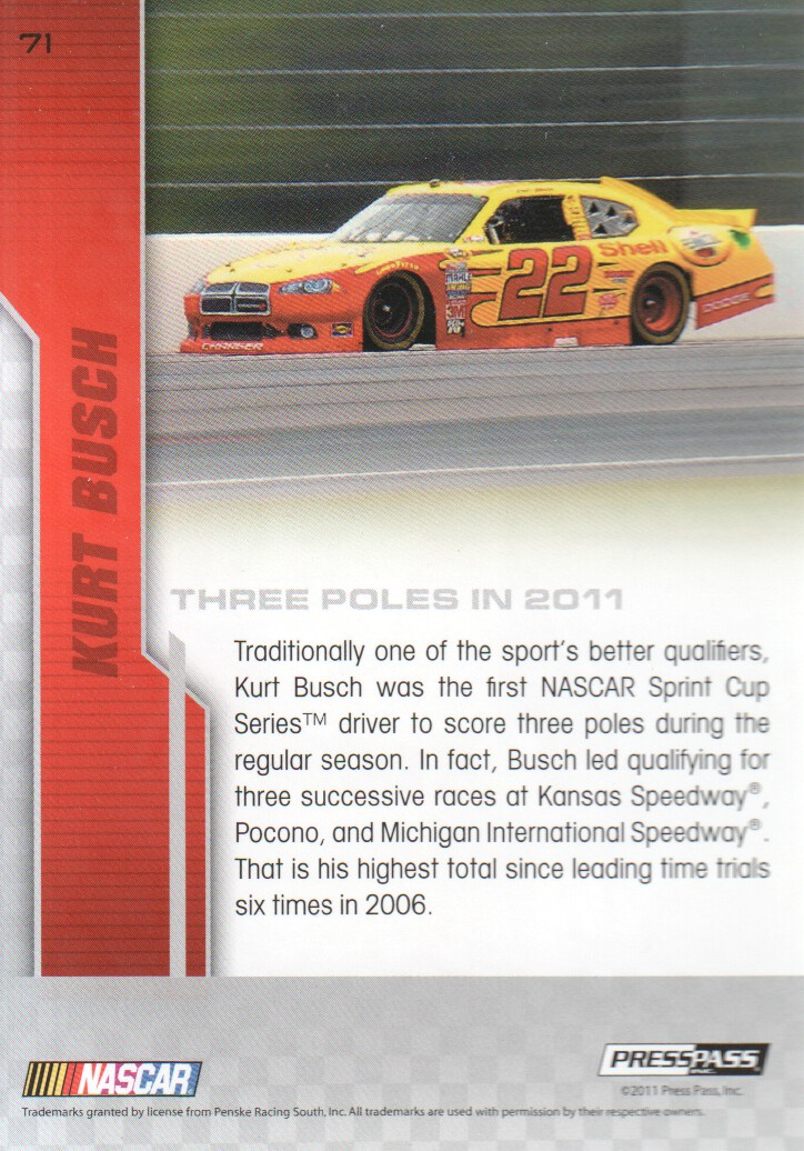 2012-Press-Pass-Parallels-NASCAR-Racing-Cards-Pick-From-List thumbnail 5