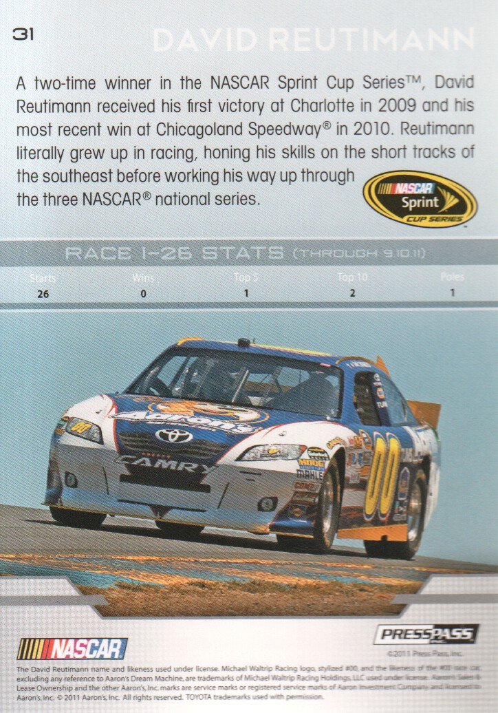 2012-Press-Pass-Parallels-NASCAR-Racing-Cards-Pick-From-List thumbnail 47