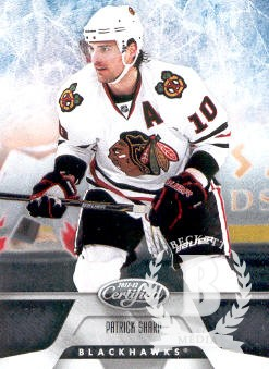 2011-12 Certified #4 Patrick Sharp