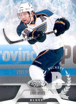 2011-12 Certified #19 David Backes