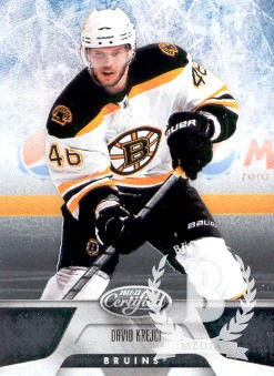 2011-12 Certified #35 David Krejci