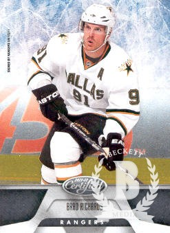 2011-12 Certified #41 Brad Richards