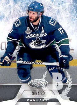 2011-12 Certified #56 Ryan Kesler