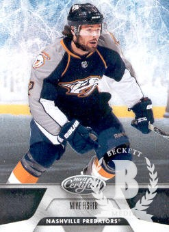 2011-12 Certified #74 Mike Fisher