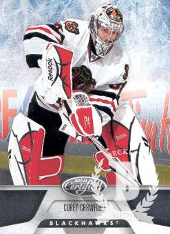 2011-12 Certified #93 Corey Crawford