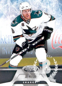 2011-12 Certified #94 Joe Pavelski