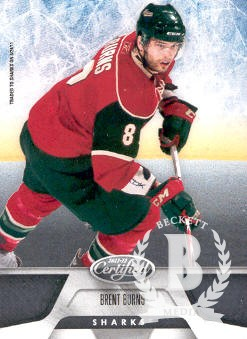 2011-12 Certified #97 Brent Burns