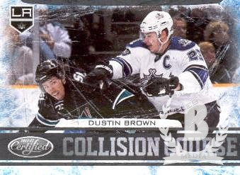 2011-12 Certified Collision Course #9 Dustin Brown