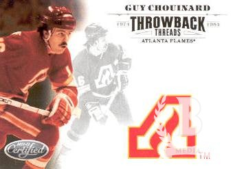 2011-12 Certified Throwback Threads #5 Guy Chouinard