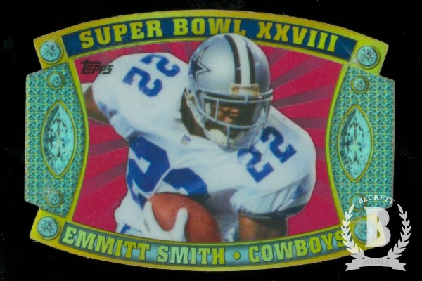 2011 Topps Super Bowl Legends Giveaway Die Cut #5 Emmitt Smith