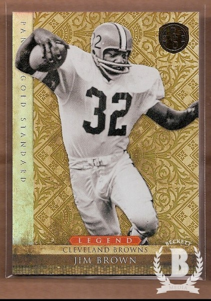 2011 Panini Gold Standard #102 Jim Brown