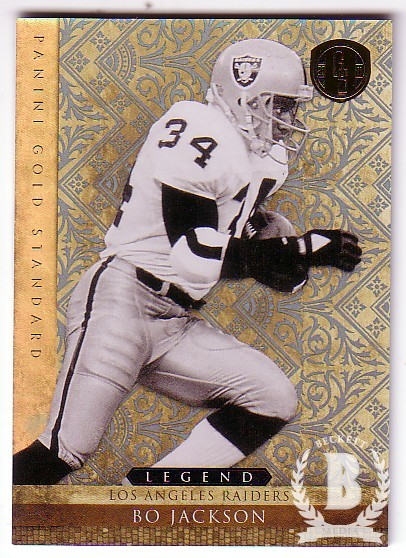 2011 Panini Gold Standard Platinum Gold #128 Bo Jackson