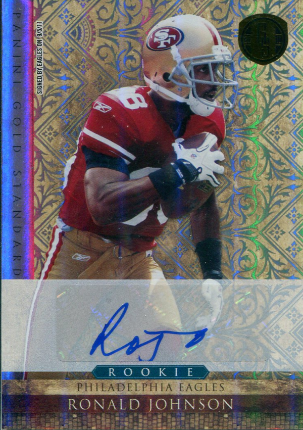 2011 Panini Gold Standard Autographs Silver #232 Ronald Johnson/499