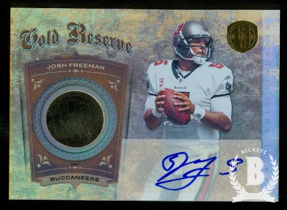2011 Panini Gold Standard Gold Reserve 14K #3 Josh Freeman AU/10