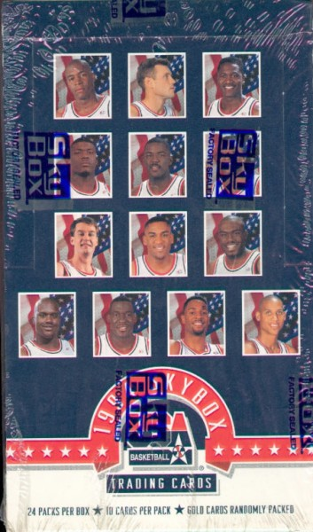 1994 SkyBox USA Basketball Hobby Box