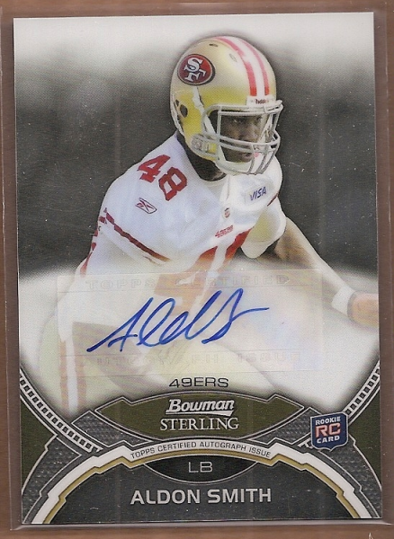 2011 Bowman Sterling #BSAAS Aldon Smith AU