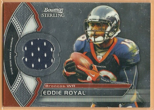 2011 Bowman Sterling #BSRER Eddie Royal JSY