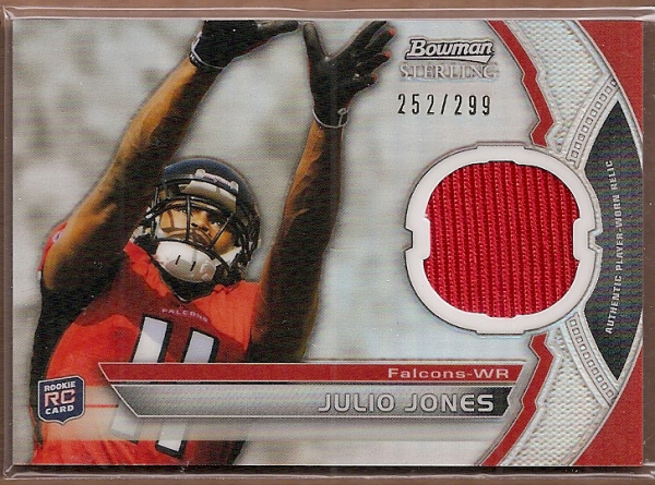 2011 Bowman Sterling Refractors #BSRJJ Julio Jones JSY