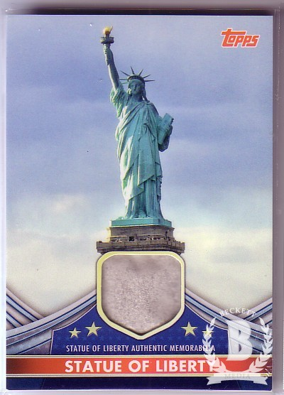 2011 American Pie American Pieces Relics #APCRSL Statue of Liberty