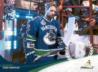 2011-12 Pinnacle #2 Dan Hamhuis
