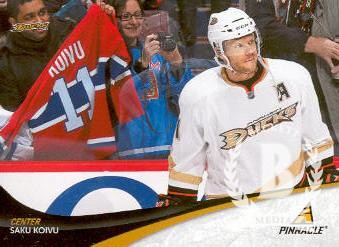 2011-12 Pinnacle #11 Saku Koivu