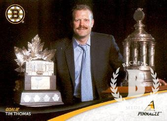 2011-12 Pinnacle #30 Tim Thomas