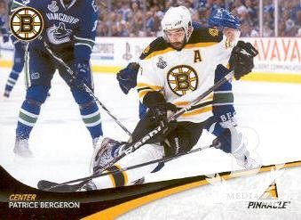 2011-12 Pinnacle #37 Patrice Bergeron