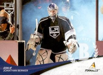 2011-12 Pinnacle #45 Jonathan Bernier
