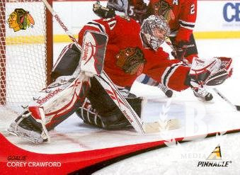 2011-12 Pinnacle #50 Corey Crawford