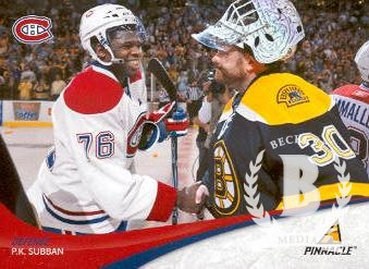 2011-12 Pinnacle #76 P.K. Subban