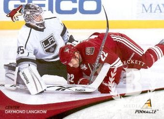 2011-12 Pinnacle #86 Daymond Langkow