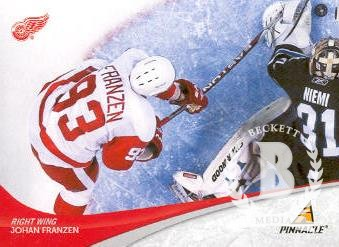 2011-12 Pinnacle #93 Johan Franzen