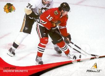 2011-12 Pinnacle #115 Andrew Brunette