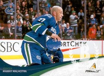 2011-12 Pinnacle #127 Manny Malhotra