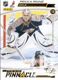 2011-12 Pinnacle Team Pinnacle #10 Pekka Rinne/Carey Price