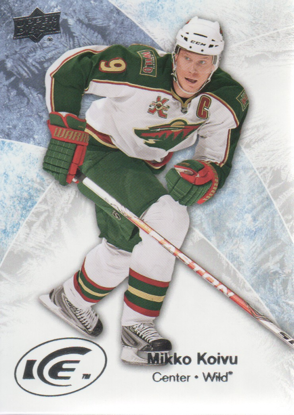 2011-12 Upper Deck Ice #10 Mikko Koivu