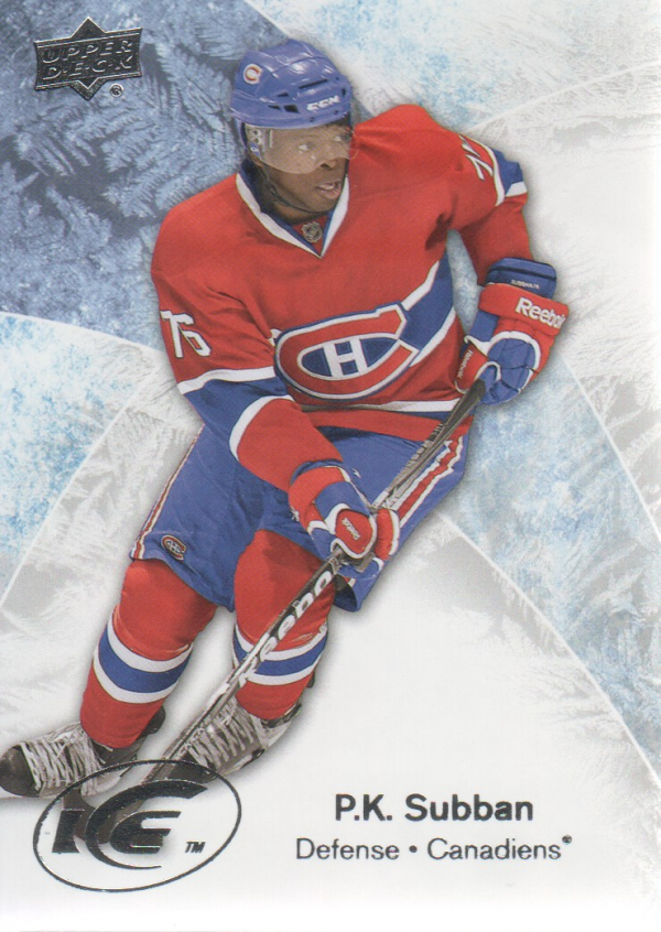 2011-12 Upper Deck Ice #11 P.K. Subban