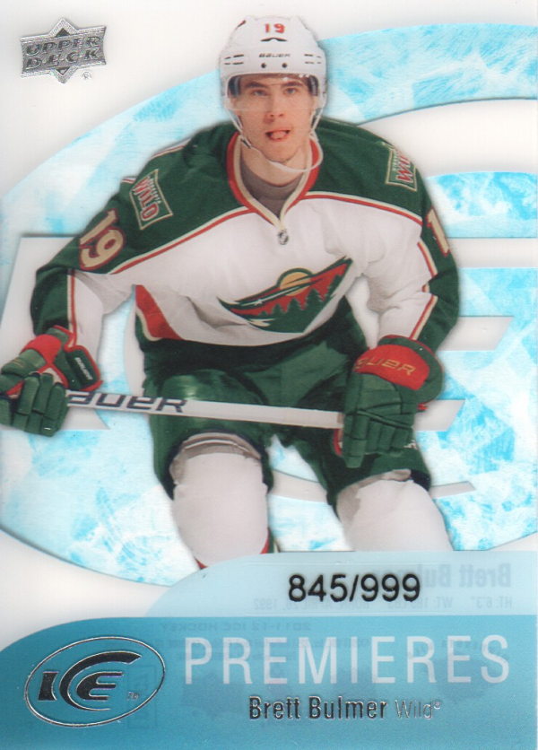 2011-12 Upper Deck Ice #62 Brett Bulmer RC