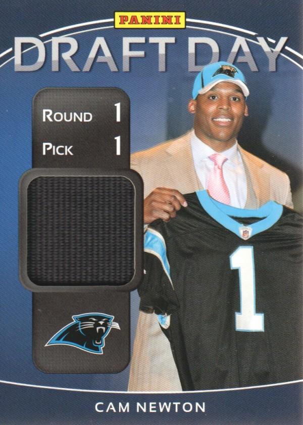 2011 Panini Black Friday Draft Day Materials #DDCN Cam Newton/40*