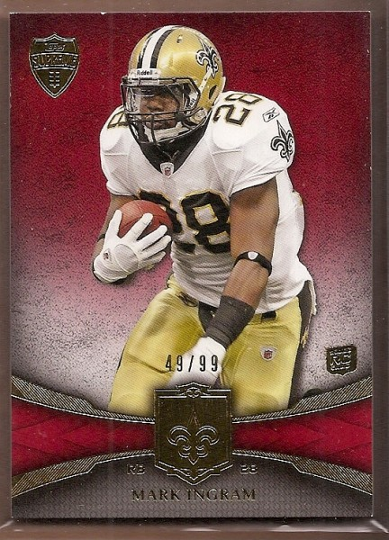 2011 Topps Supreme Red #9 Mark Ingram