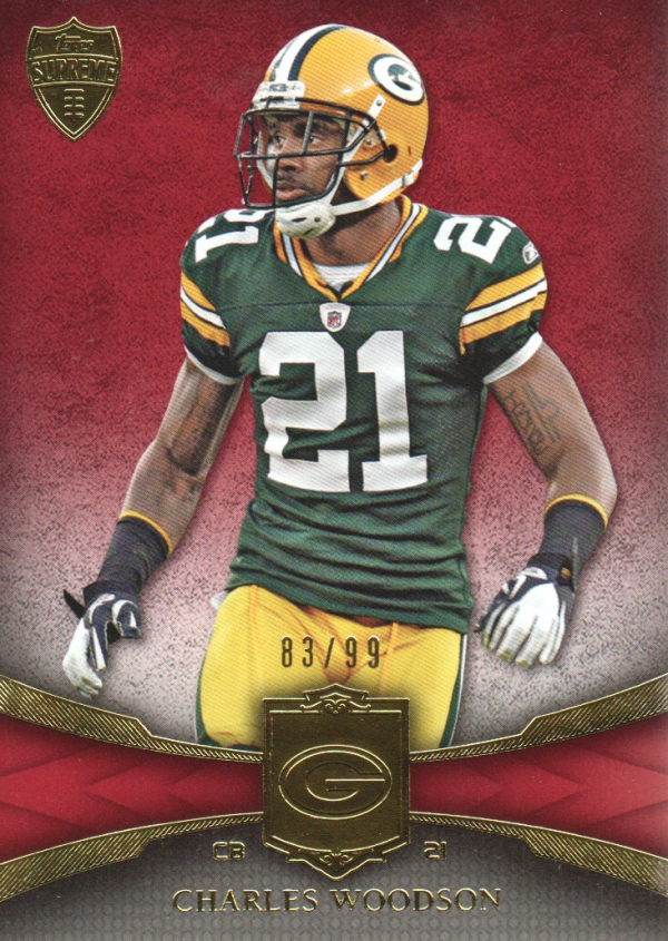 2011 Topps Supreme Red #32 Charles Woodson