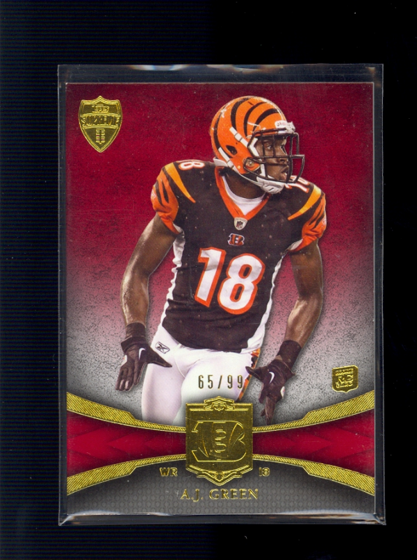 2011 Topps Supreme Red #33 A.J. Green