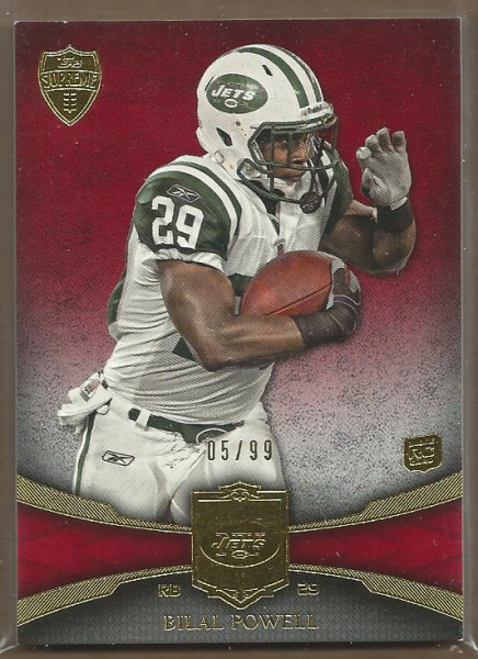 2011 Topps Supreme Red #38 Bilal Powell